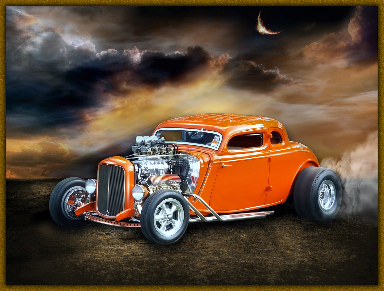 Old School Hot Rod - Other Cool Photos - Topaz Discussion Forum