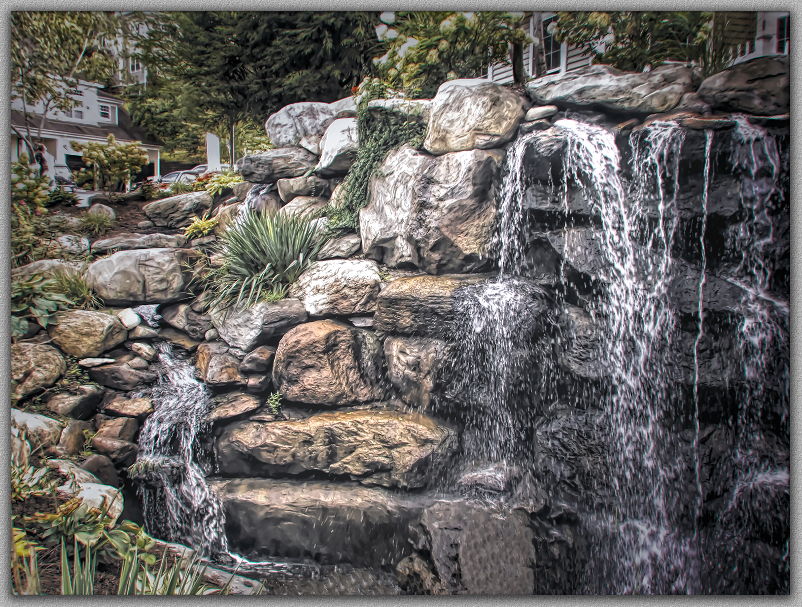 Rock Garden Waterfalls   Scenery And Architecture   Topaz Discussion Forum