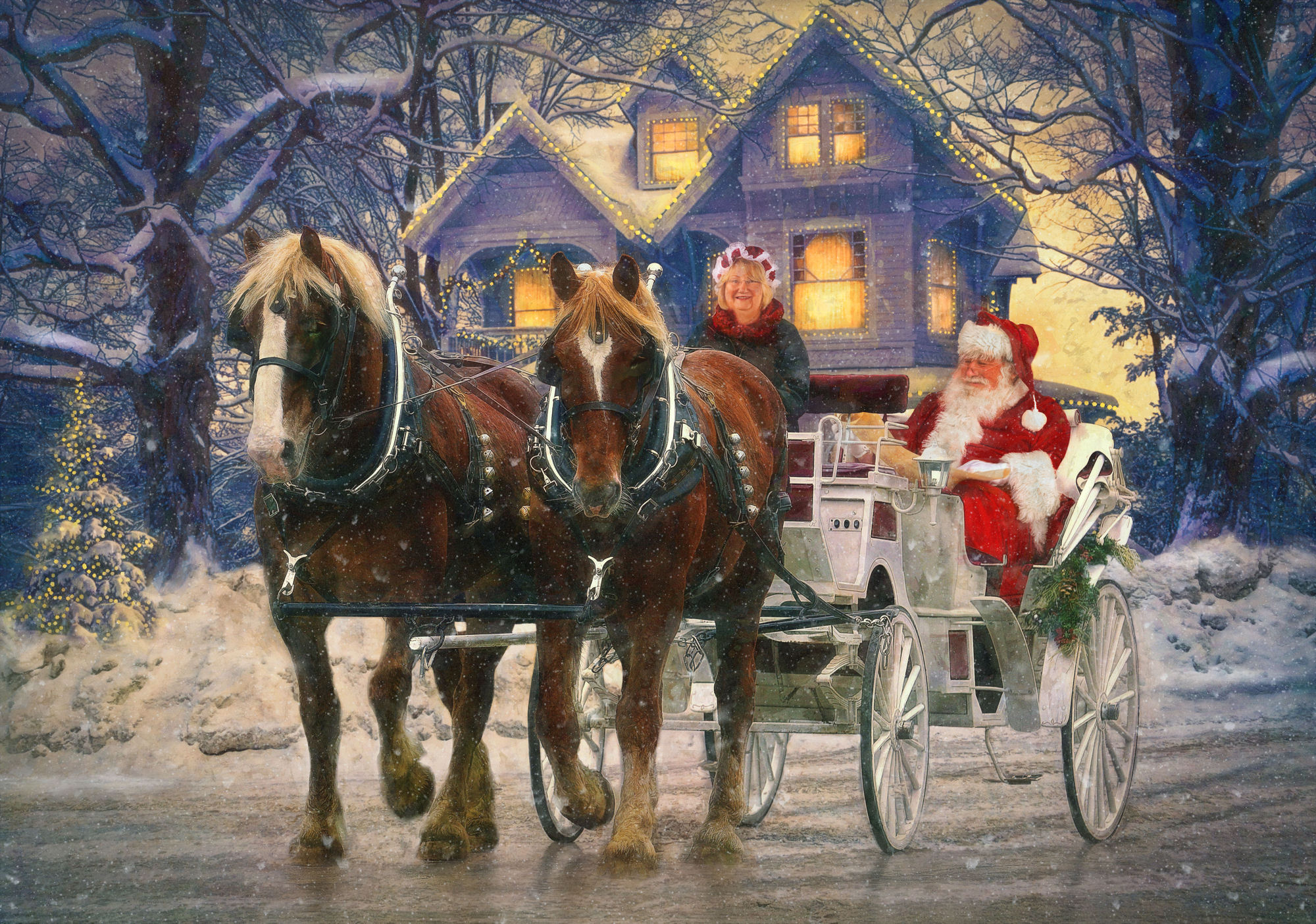 horse buggy christmas people and animals topaz discussion forum